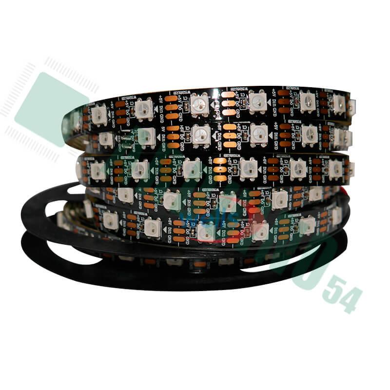 Светодиодная пиксельная лента WS2812b 60шт/метр