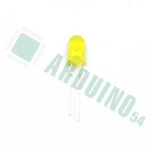 Светодиод 5мм (жёлтый)