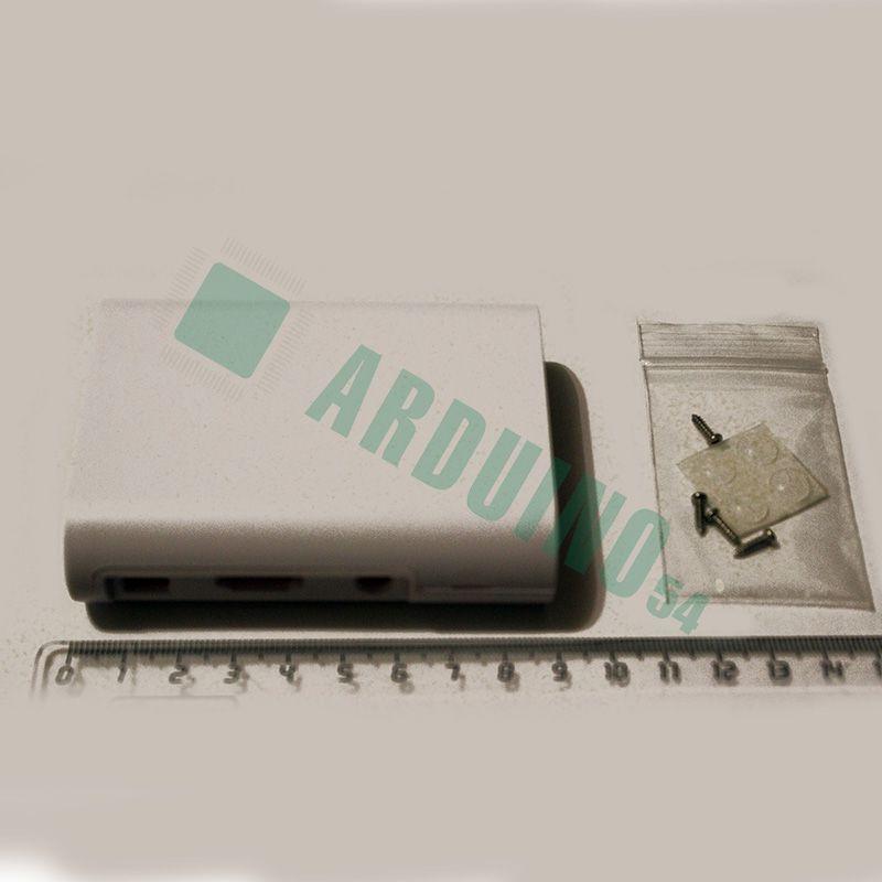 Бокс для Raspberry Pi 3 B (белый)