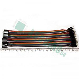 Соединительные провода 20см «п-м» (40 шт. шлейф)