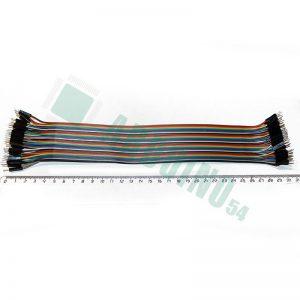 Соединительные провода 30см «п-п»(40шт шлейф)