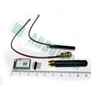 GSM/GPRS модуль Simcom SIM800L с антенкой