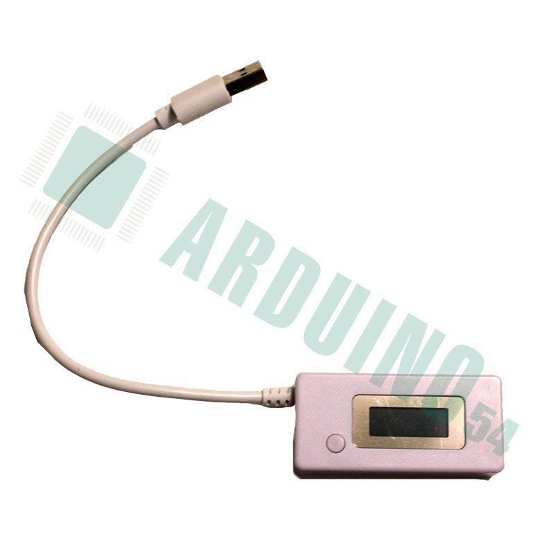 USB тестер с ЖК-дисплеем