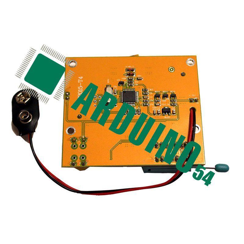 Тестер транзисторов Mega328