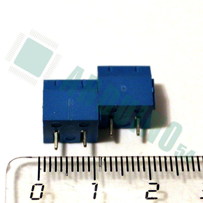Клеммная колодка для печатных плат 2 контакта