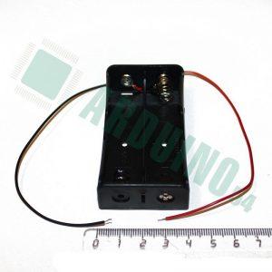 Держатель-бокс для аккумуляторов 2x18650