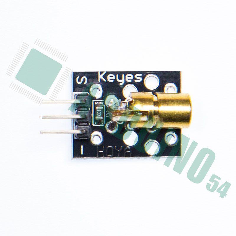 Модуль с лазером (KY-008)