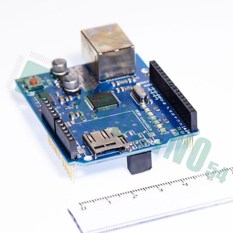 W5100 Ethernet Shield + SD