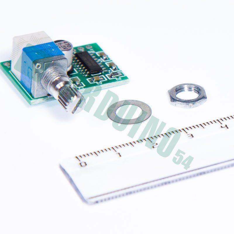 Звуковой усилитель PAM8403 с регулятором