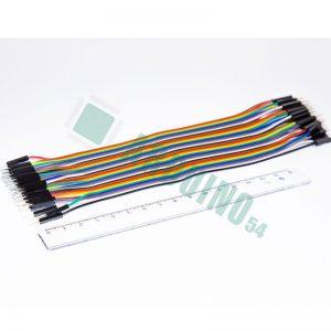 Соединительные провода 20см «п-п» (40 шт. шлейф)
