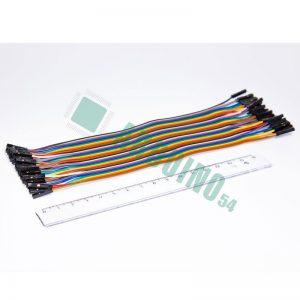 Соединительные провода 20см «м-м» (40 шт. шлейф)