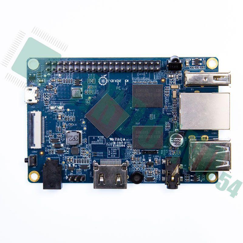 Orange Pi PC (1 ГБ DDR3)