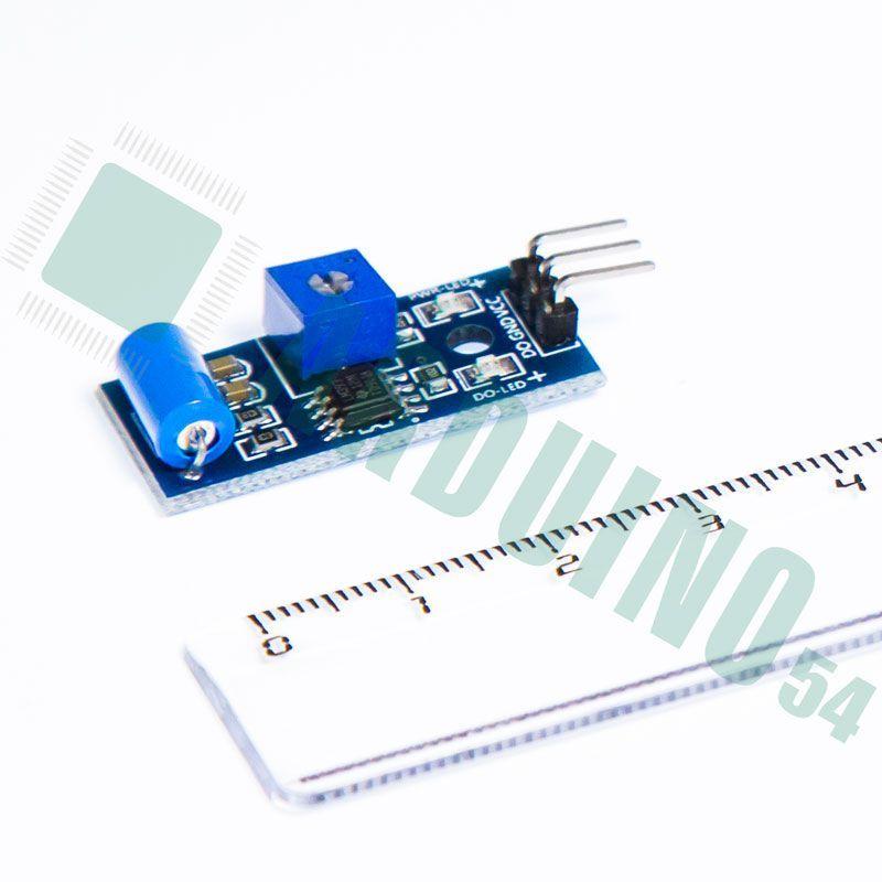 Модуль датчика движения  вибрации  землетрясения (SW-420)
