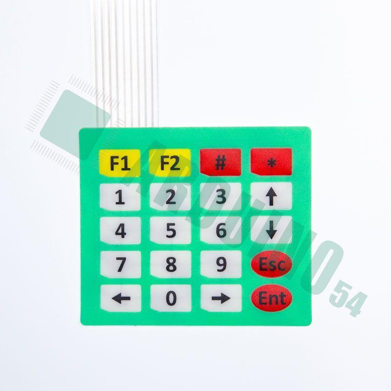 4*5 Мембранная Клавиатура (Зеленая)