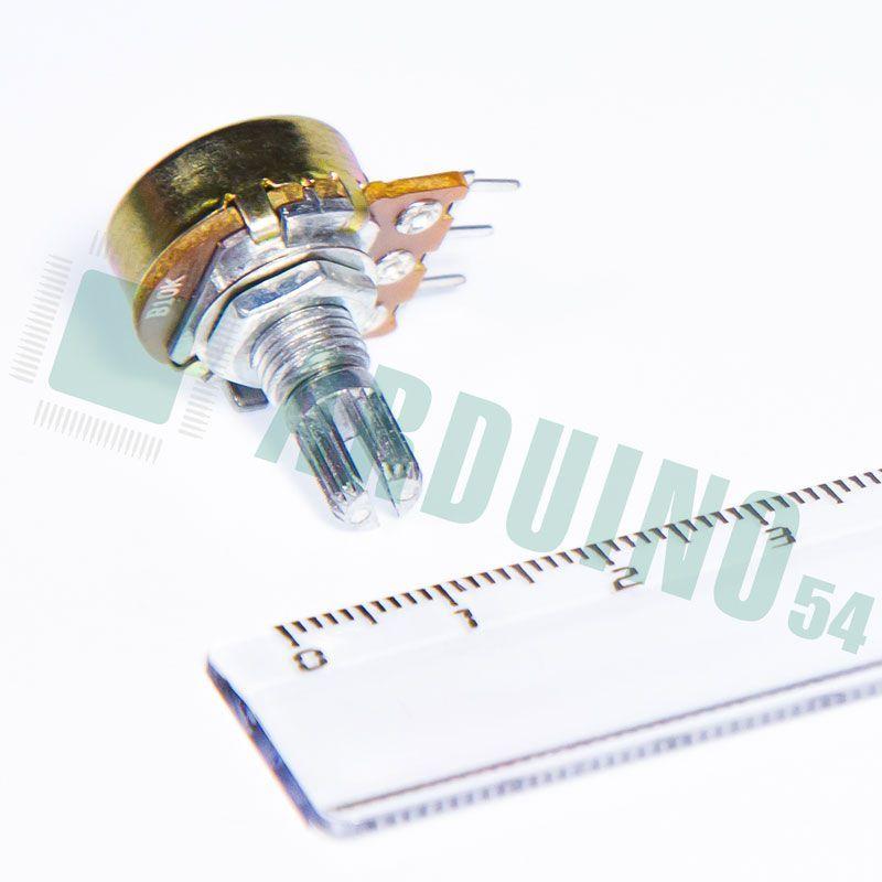 Линейный потенциометр WH148 B10K