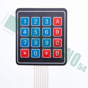 4*4 Мембранная клавиатура