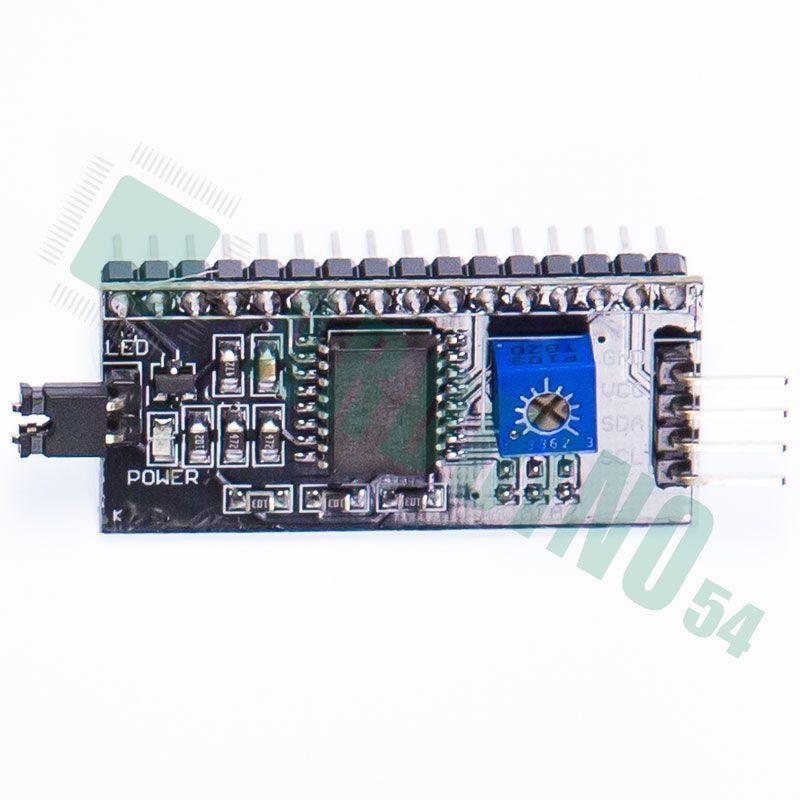 LCD конвертор в IIC/I2C spi