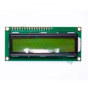 LCD 16x2 1602 дисплей зелёный