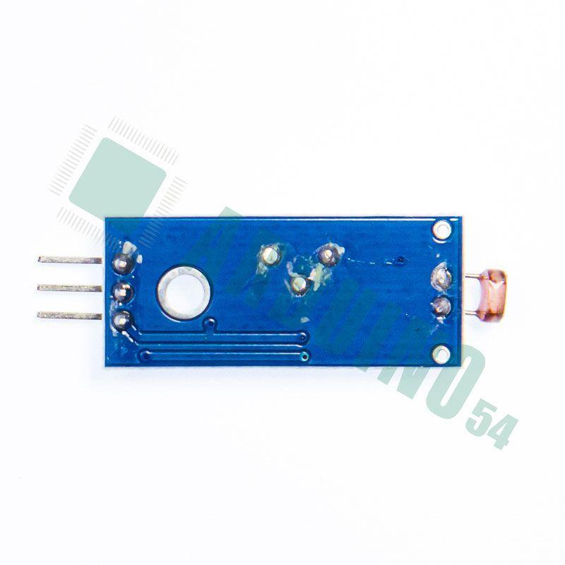 Модуль с фоторезистором регулируемый