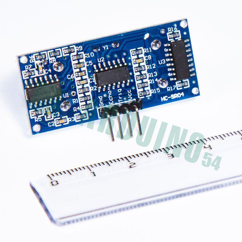 Ультразвуковой дальномер (HC-SR04)