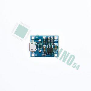 TP4056 Micro USB (для зарядки аккумуляторов Li-Pol, Li-Ion)