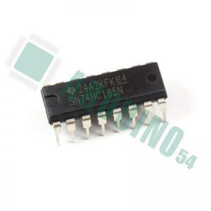 SN74HC165N, 8-битный сдвиговый регистр