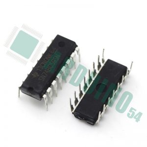 Сдвиговый регистр SN74HC595N 8 бит