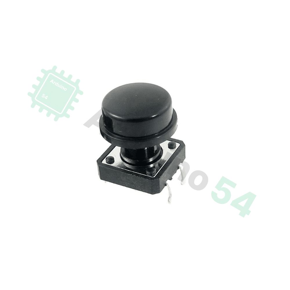 Кнопки SWT 12X12-7.3 с цветными крышечками