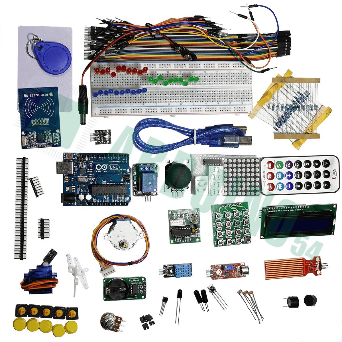 Arduino starter kit с Arduino Uno (ATmega16U2) с коробкой