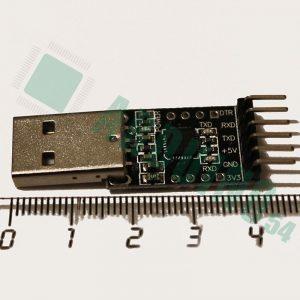 USB to TTL Модуль (CP2102) + DTR pin