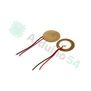 Пьезо элемент 27мм диск с проводом (датчик давления)