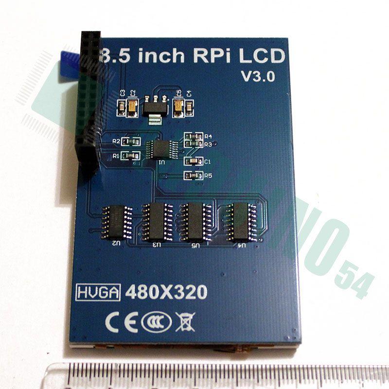3.5″ RPI LCD V3.0 для Raspberry Pi с Touch Screen (320×480)