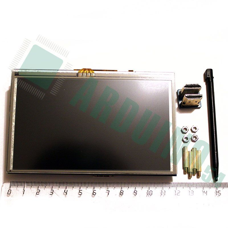 5″ HDMI LCD дисплей для Raspberry Pi с Touch Screen (480×800)