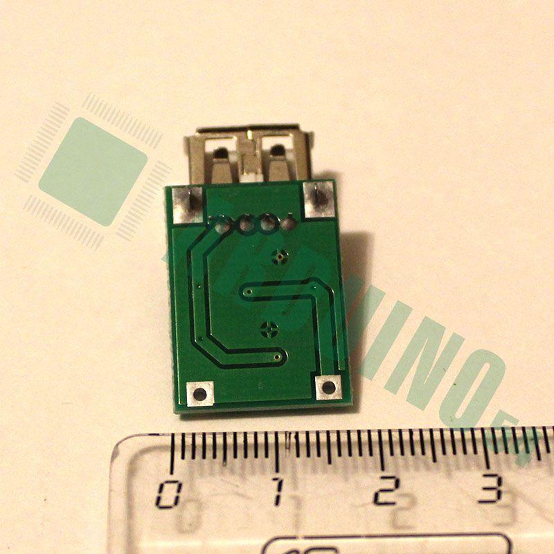 DC-DC повышающий USB конвертер 0,9-5В (600 мА макс.)