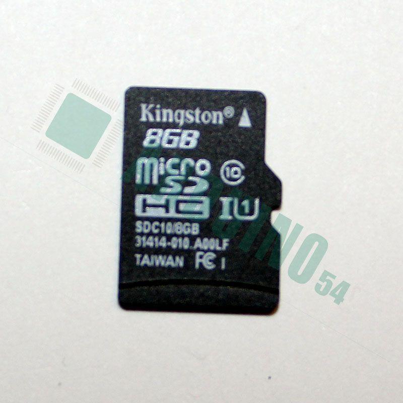 Micro SD карта памяти 8Гб