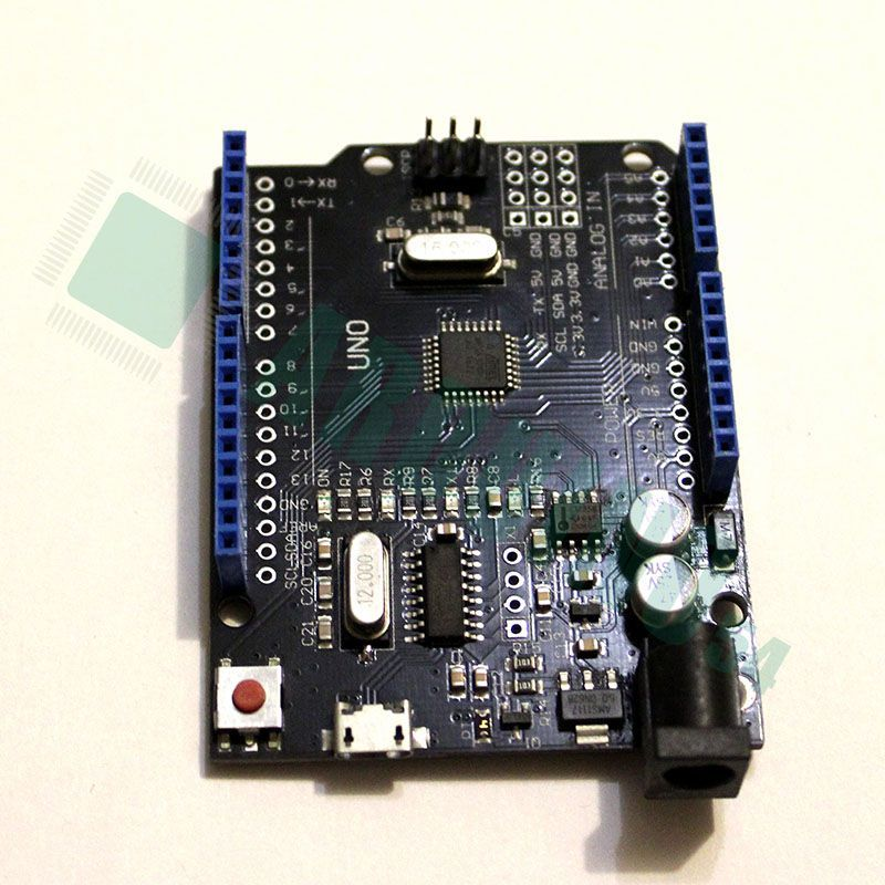 Arduino Uno R3 c MicroUSB (CH340G) без кабеля