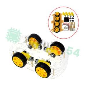 Четырехколесная 4WD платформа