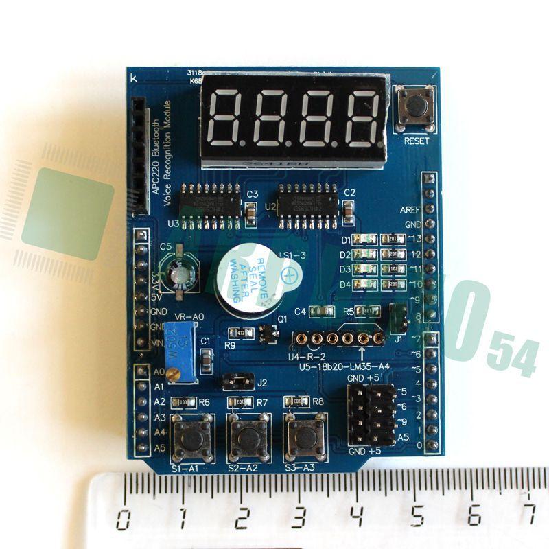 Многофункциональный Shield для Arduino