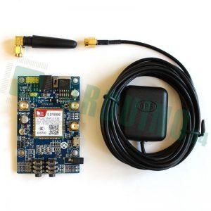 SIM808 GSM/GPRS shield + GPS антенна (Arduino/Raspberry Pi)