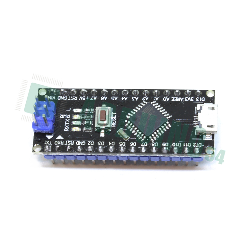 Arduino Nano V2.0 (ATmega168) c MicroUSB (CH340G) без кабеля
