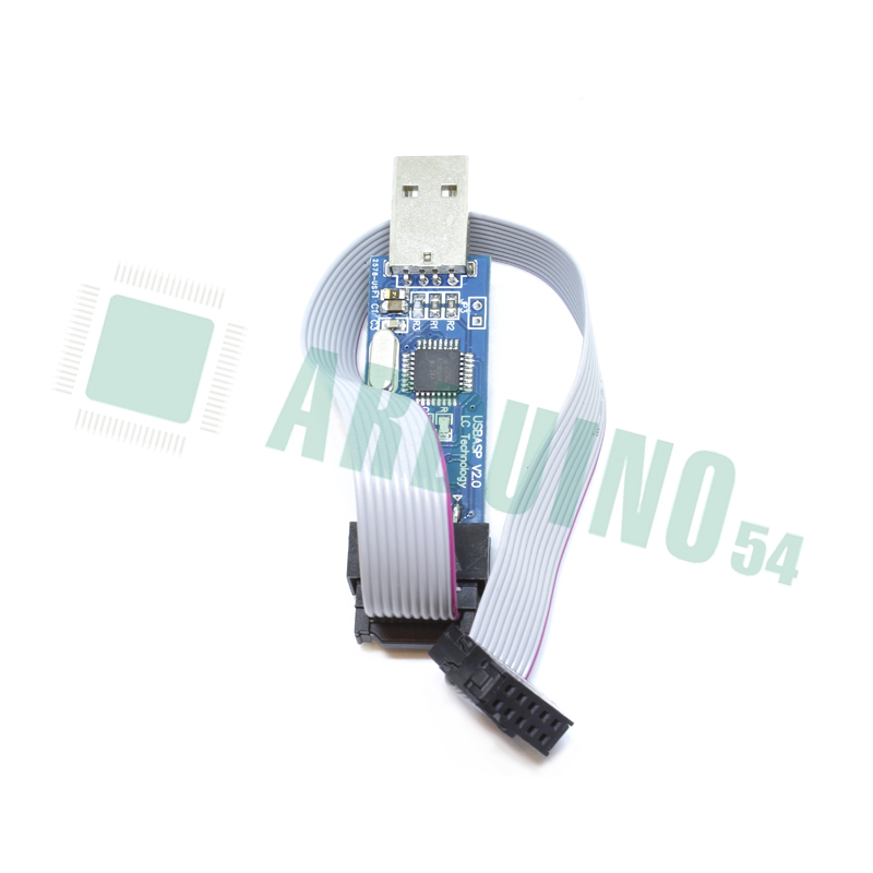 Программатор 51 AVR USB ISP ASP Atmega programmer