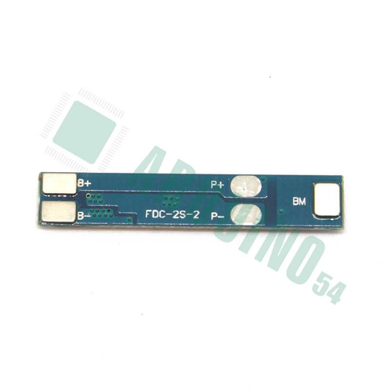 Контроллер заряда разряда PCM 2S 3A 7.4В 8.4В  для 2 Li-Ion аккумуляторов 18650