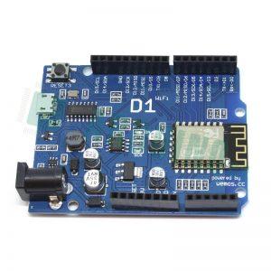 Arduino Uno с Wi-Fi WeMos D1 R1 на ESP8266 ESP-12E