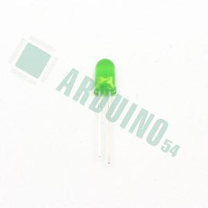 Светодиод 5мм (зелёный)