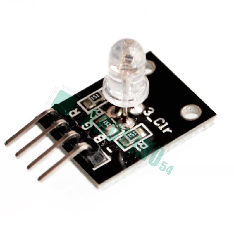 Светодиодный RGB модуль (KY-016)