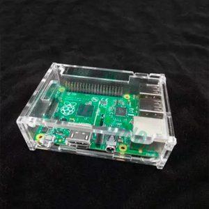Акриловый корпус для Raspberry Pi