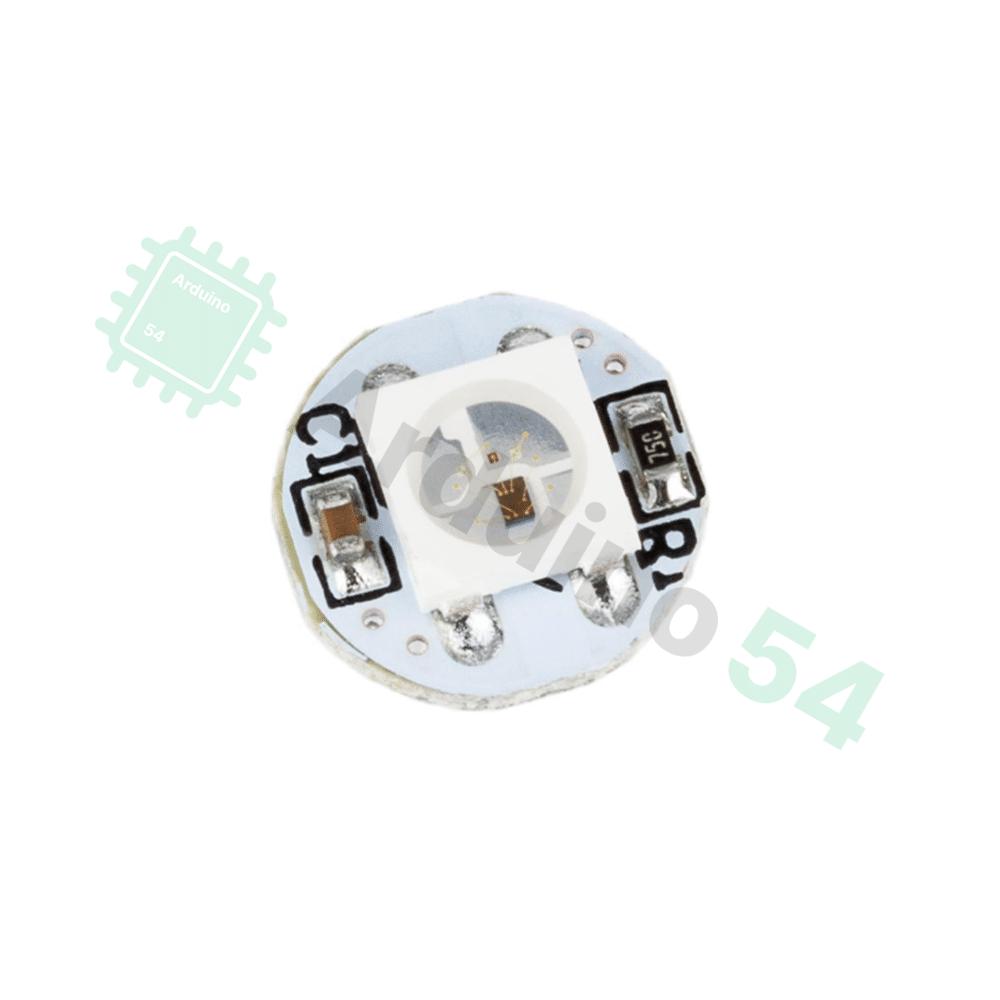 Управляемый RGB светодиод 5050 WS2812 на плате