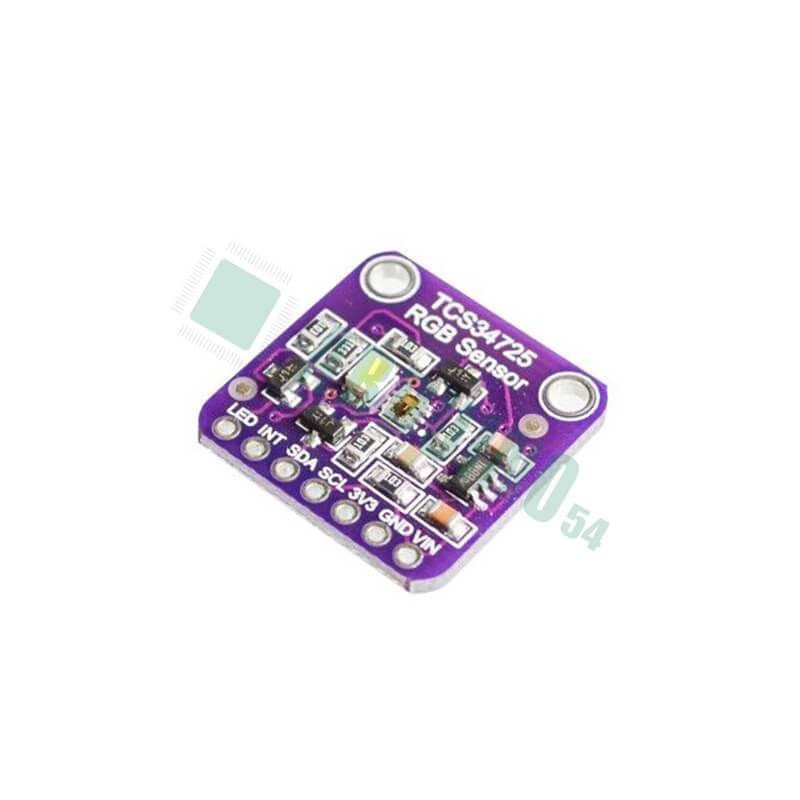 Датчик цвета с ИК-фильтром, TCS34725