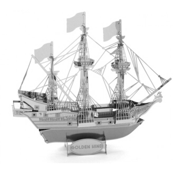 Пиратский корабль «Golden Hind»