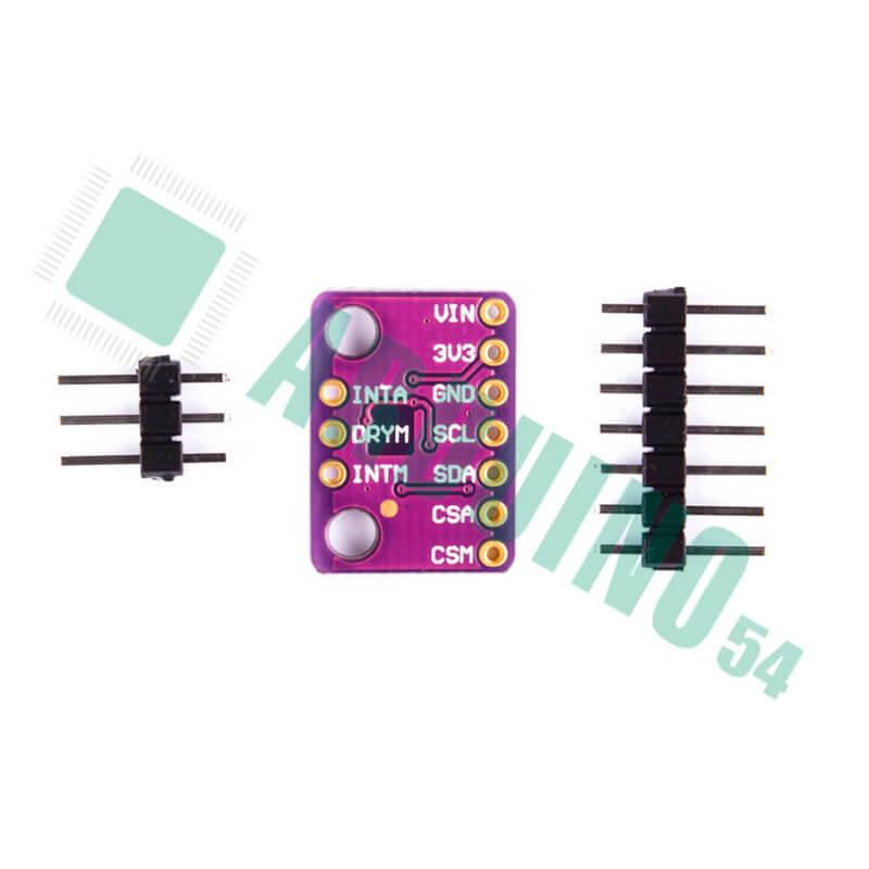 3-х осевой магнитомер-акселерометр GY-LSM303C